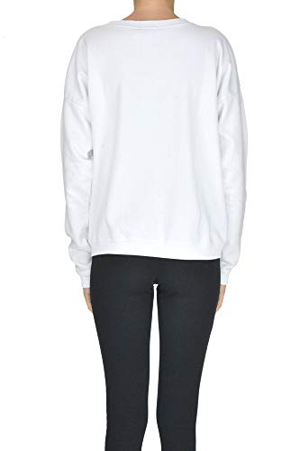 Mujer Blanco Sudadera Algodon Mcglftt000005001e Fiorucci qfwd0q