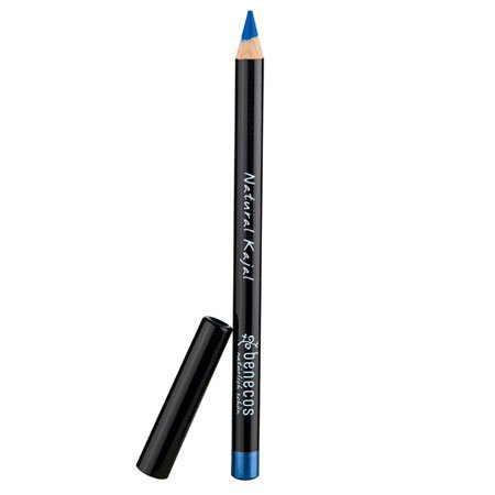 Benecos Natural Eyeliner: Bright-Blue, Long-Lasting Color, Without Talc and Perfume, (0.04 Ounce Eyeliner Pencil)