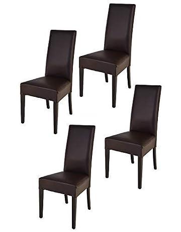 Tommychairs sillas de Elegancia y Design - Set de 4 Sillas Luisa para Cocina, Comedor