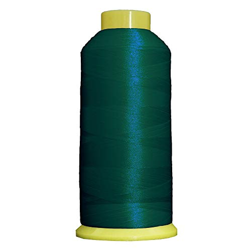 Threadart Polyester Machine Embroidery Thread - 5000m Cones - No. 325 - Blue Spruce - 160 Colors