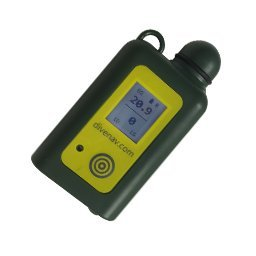 cootwo DELUXE: CO and O2 Dual-Gas SMART Analyzer for Scuba Diving - includes Oxygen and Carbon Monoxide sensors, Carrying case and Low Pressure Inflator adapter. Smartphone controllable
