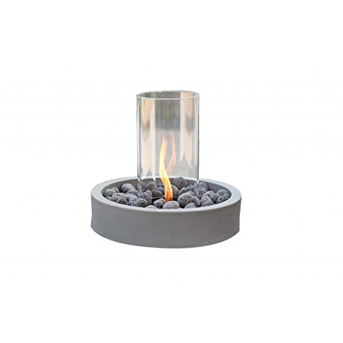 Outdoor GreatRoom Company Intrigue Gas Table Top Fire Pit (Aluminum Cv Guards)