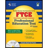 Ftce- Professional Education Test (4th, 07) by PhD, Leasha Barry - PhD, Sally Robison - PhD, Betty J B [Paperback (2006)]