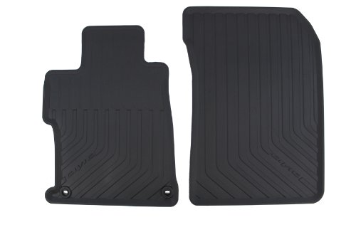 Genuine Honda Accessories 08P13-TS8-110A Black All Season Floor Mat for Select Civic (Jdm Floor Mats)