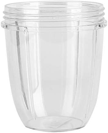 900W Juicerbeker Plastic en rubber Veilige milieuvriendelijke mokvervanging voor 900W Nutribulletdeksels en blenders18 OZ