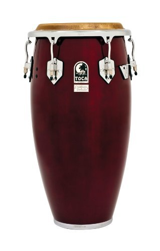Toca 4612-1/2DW Custom Deluxe Wood Tumba - Dark Wood Finish by Toca