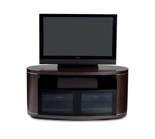BDI Revo 9981 Double Wide Rotating Entertainment Cabinet, Espresso Stained Oak