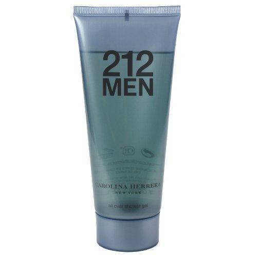 212 by Carolina Herrera for Men All Over Shower Gel 3.4 oz.