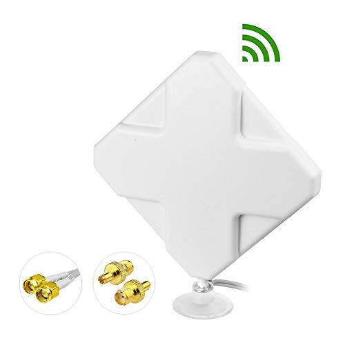 Bingfu High Gain 4G LTE 35dBi MIMO SMA Male TS9 Antenna for 4G Router Modem  MiFi Mobile Hotspot Verizon Jetpack 8800L 7730L AC791L 6620L Netgear