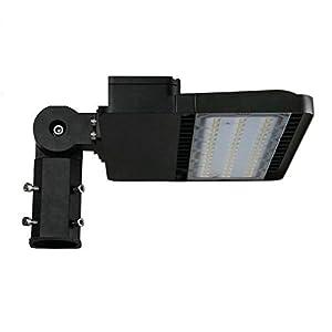 CYLED 150W LED Shoebox Pole Light, 17,800 Lumens Parking Lot Lights (450W Equivalent), Outdoor Light Fixtures, 6000K Led…