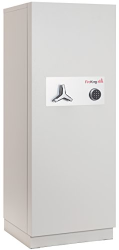 Fireking Fireproof 2-Hour Data Safe, 76.81'' H x 29.44'' W x 30'' D/11.2 cu. ft., Light Gray by FireKing
