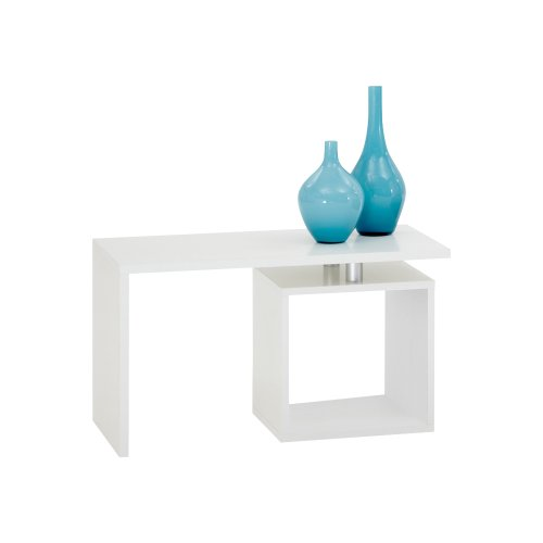 FMD Coffee Table Klara, 77 x 44 x 40 cm, White by FMD