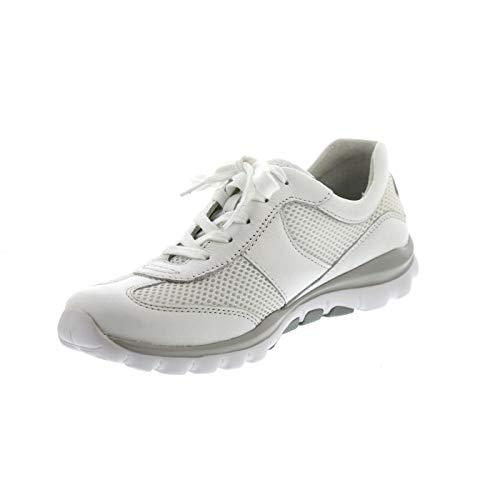Rollingsoft Donna Gabor Ginnastica Basse weiss Da Scarpe 50 Shoes Eu Bianco 38 fwBqF6S