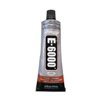 E6000 230022 Medium Viscosity Auto/Industrial Adhesive, 3.7 fl oz