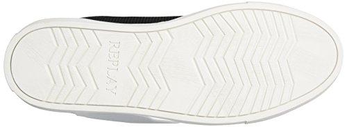 Sneaker Black Schwarz White Replay Herren Bemd AqwSSp