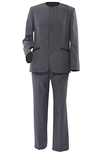 Allten Men's Costume The Beatles in early the 1970s Youth Suit Uniform Male XXL