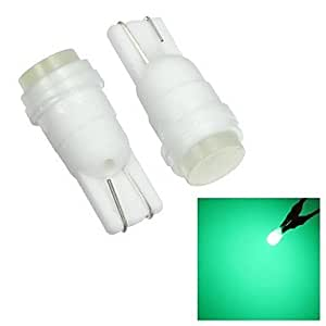 GDW Merdia t10 1w LED de alto rendimiento del coche luz verde luz de lectura / luz lateral (12v / par)