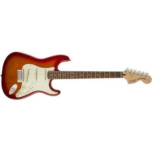 (Squier Standard Stratocaster - Cherry Sunburst with Rosewood Fingerboard)