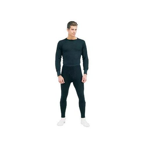 Rothco Thermal Underwear Bottom, Black, Large