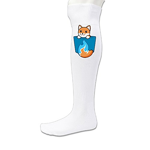 EWIED Men's&Women's Pocket Rays Fox Sports SockWhite (1 Pair)