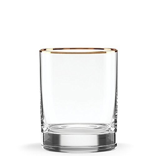 - Lenox Timeless Gold DOF Glass, Clear 13 OZ
