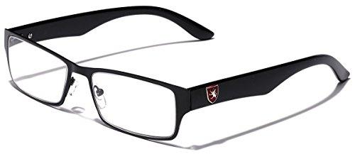Khan Men's Rectangle Fashion Reading Glasses