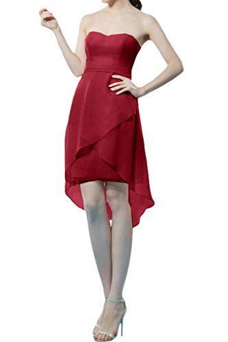 Missdressy - Vestido - trapecio - para mujer rojo 46