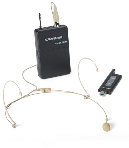 Usb Headset System Bluetooth (Samson Stage XPD1 USB Digital Wireless Headset System With DE5)