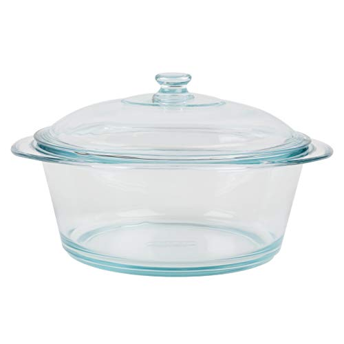 Pyrex 556a000/t443 Round Oven Dish 3.5 L Glass