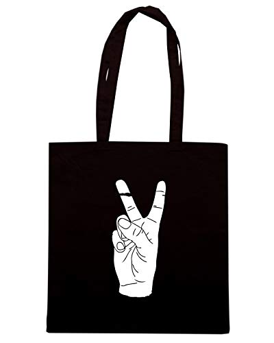 Borsa Speed Shopper WES0980 Nera PEACE Shirt 4RwRZq6