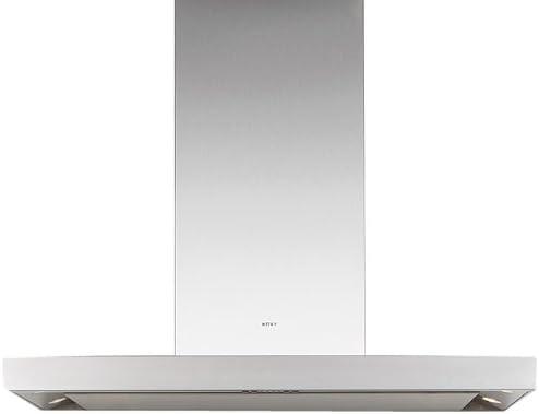 NOVY Flatline De pared Acero inoxidable - Campana (Canalizado/Recirculación, De pared, Acero inoxidable, 20 W, 4 bombilla(s), Fluorescente): Amazon.es: Hogar