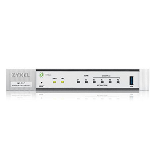 Zyxel Nebula Gateway de seguridad 300 Mbps gestionado en la nube NSG50 10 t/úneles VPN
