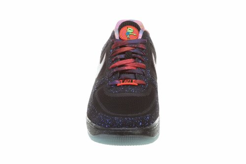 Sport Shoes Trainer Black PRM Qs Reflect ForceFuse Silver Mens Lunar NIKE AOqX6gx