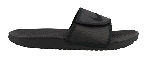 Nike Men's Kawa Adjustable Slide Sandals Black/Black 11