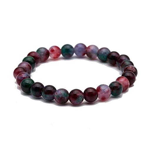 8Mm Nature Stone Lava Stone Buddha Beaded Bracelets Bangles for Men Male Strand Bracelet Jewelry Accessories