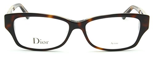 Dior Montaigne 10 Women Prescription Eyeglasses Frame Havana (0G9Q), 52mm - New Dior Glasses