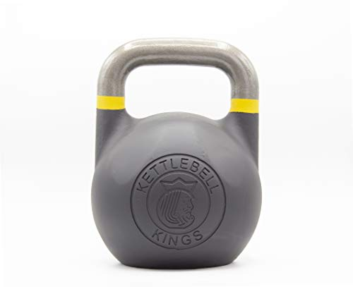 Kettlebell Kings | Kettlebell Weights | Competition Kettlebell Weight Sets for Women & Men | Built in American Style | Same Size & Dimension Across All Weights