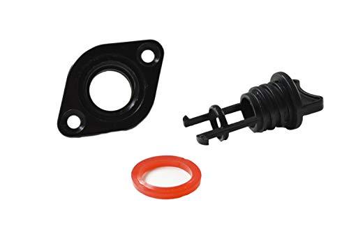 Marine City Nylon Plug Black Size:3/4