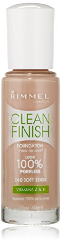 Rimmel Clean Finish Foundation, Classic Beige