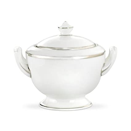 Amazon.com | Royal Worcester Monaco Platinum Bone China Covered ...