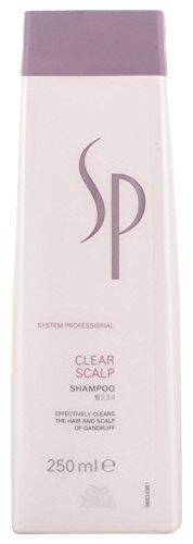 Wella SP Clear Scalp Anti-Schuppen Shampoo für gereizte Kopfhaut, 250 ml
