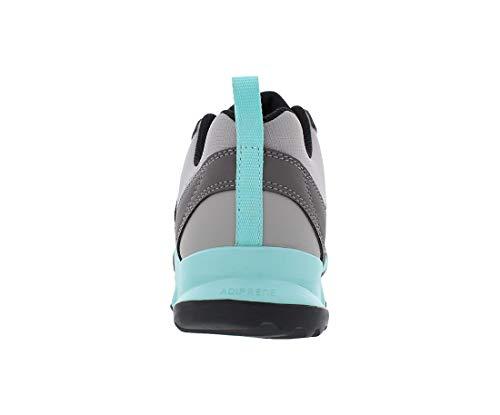 adidas Women's Terrex AX2R Mid GTX Hiking Boot - MGH Solid Grey/Ch Solid Grey/Black, 6.5 4