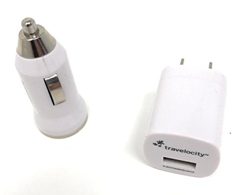 Click to buy Travelocity Car & Wall USB Chargers - for your car and home (White) - From only $9.9