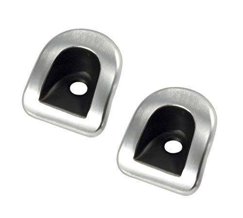 2005-2014 Mustang Satin Aluminum Door Lock Bezel Covers