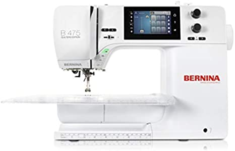 Bernina 475 Quilters Edition - Máquina de coser (Serie 4): Amazon ...