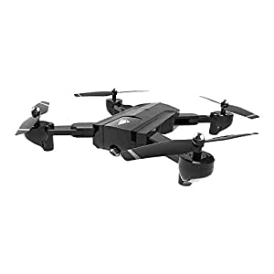 Foldable RC Drone with Camera, DM107 2.4G Altitude Hold Headless Quadcopter