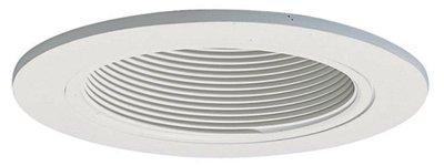 Cooper Lighting 993W Coilex Baffle, White With White Trim Ring, 4-In. - Quantity 6