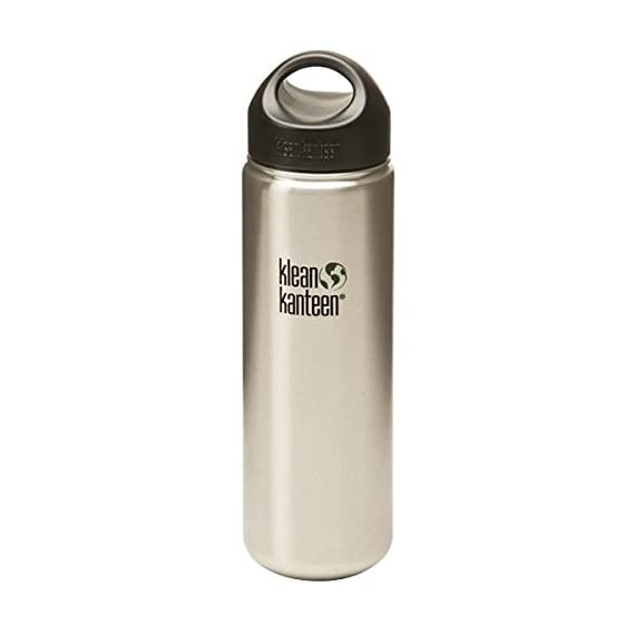 Klean Kanteen Classic Single Wall Stainless Steel Water Bottle with Leak Proof Loop Cap 1 <p>Klean Kanteen has always been stainless. Before Klean Kanteen, hydration bottles were made from either polycarbonate plastic or aluminum. We now know that both those materials are associated with a host of diseases and illnesses, info that wasn't common knowledge in 2004 when Klean Kanteen released the first food-grade stainless bottle onto the market. But there were studies, even then, that worried us and caused us to doubt the safety of the existing bottles on the market.The founders of Klean Kanteen wanted to give health conscious people a safe alternative to plastic and aluminum. So the very first Klean Kanteen was made from high quality, 18/8, food-grade stainless steela metal superior in both strength and safety that contains no harmful chemicals or toxins. No BPA, phthalates, lead or toxins.Now all those other companies that started out making plastic or aluminum bottles are crowing about their new stainless bottles. We got it right the first time because health has always been our top priority.Features include: Eco-friendly, recyclable, durable, designed to last, reusable, refillable. Large mouth openings - fit ice cubes and other big items like frozen berries, easy to fill and pour, easy to hand-wash. 100% stainless threads - no plastic threads or liner. BPA-free caps - made of BPA-free polyproylene (pp #5), all caps have safe, toxin-free silicone seal. Rounded corners - rounded corners are easy to clean with no hard angles where dirt, germs or bacteria can stick. Flavor free - food-grade stainless steel we use doesn't need to be lined with plastic or baked-on epoxy like aluminum bottles, so you'll never have to check to make sure the inside of your Klean Kanteen is still safe and intact. Because our bottles don't have a liner, they don't retain flavors or make drinks taste funky either. Easy care and use - easy to clean, dishwasher safe (some products should be han