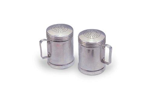 Stansport Aluminum Salt-N-Pepper Shakers