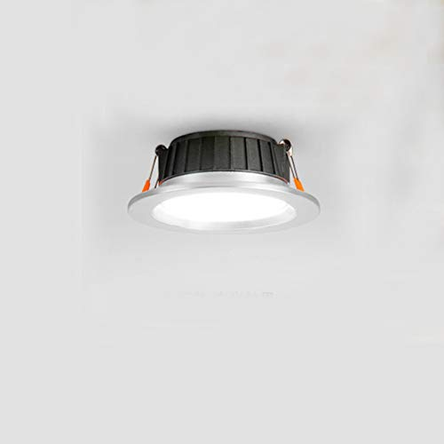 YAYONG Nordic LED Downlight Ceiling COB Directional Modified Embedded Ceiling Light Spotlight,C,9.8CMX4CM